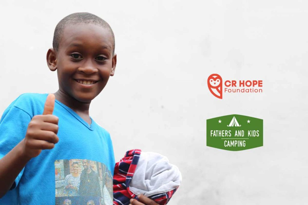 Cr Hope Foundation Partners Up With Fathers And Kids Camping