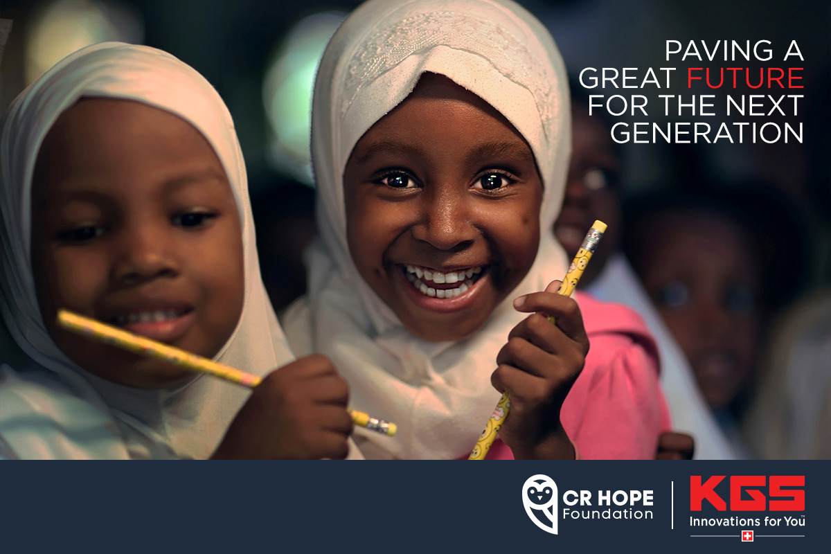 Together We Can Do Better: KGS DIAMOND Partners Up With CR HOPE Foundation