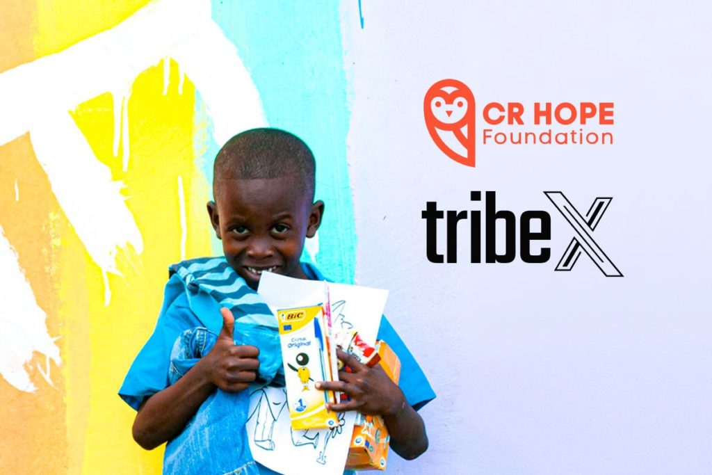 CR HOPE Welcomes A New Partner On Board: Cheers To TribeX